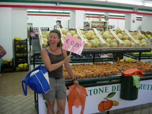 Affari al mercato calabro