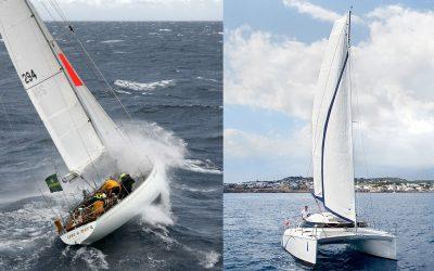 Monoscafo o catamarano?