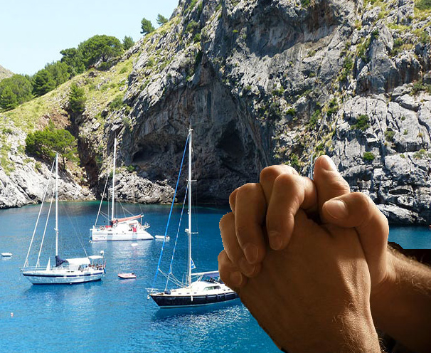 14 preghiere al diportista in rada