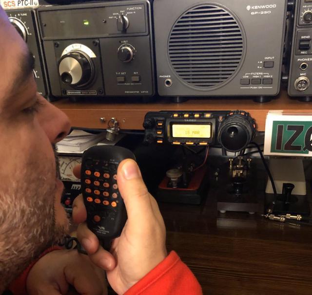 impianto radio vhf