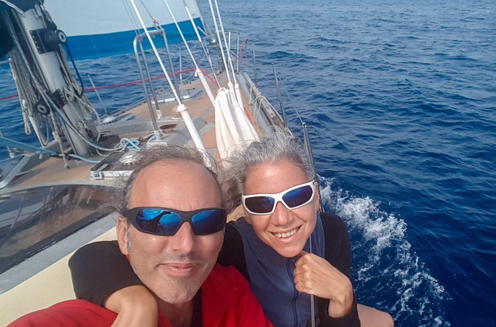 Grazie e addio Yakamoz! Buon vento, buon viaggio e buon ancoraggio